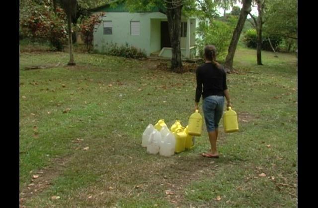 Residentes de La Milagrosa, en La Vega reclaman servicios básicos
