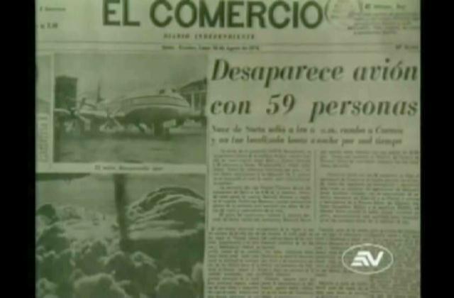 Conozca la historia de un avión que estuvo casi 30 años perdido