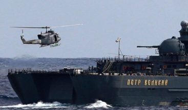 China y Rusia comienzan maniobras navales conjuntas en Mar de China Oriental