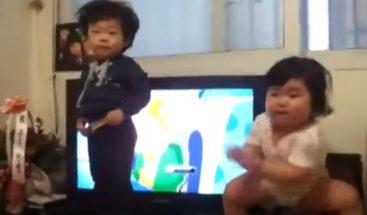 Niños coreanos marcan tendencia en el baile