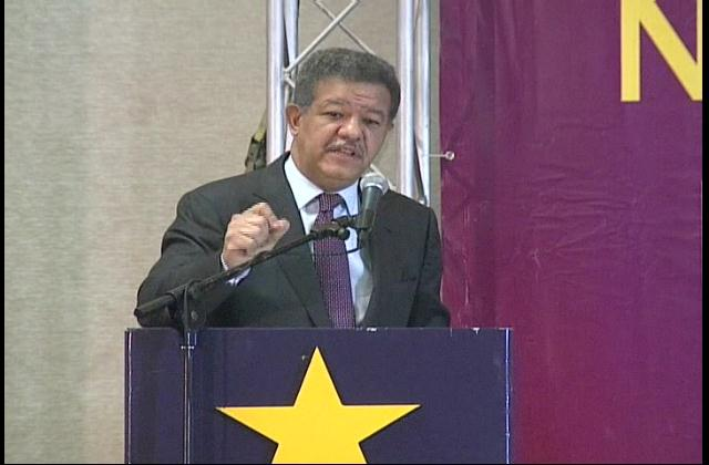 Fernández reconoce PLD perdió