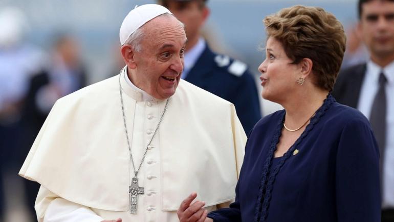 El papa desea que el Mundial sea una fiesta de solidaridad entre los pueblos