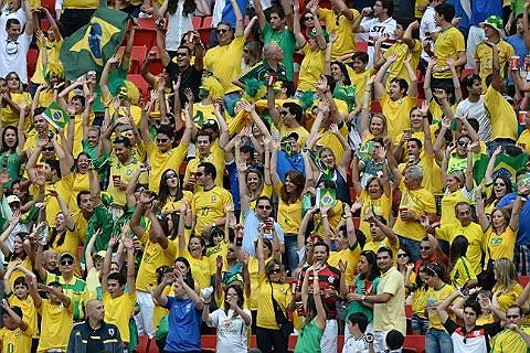 Más de un millón de personas de 202 países llegaron a Brasil para el Mundial