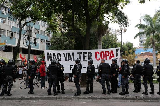 La Policía detiene a 29 personas con máscaras y cuchillos en Sao Paulo