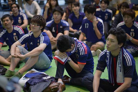Decepción en Japón tras la eliminación por goleada ante Colombia