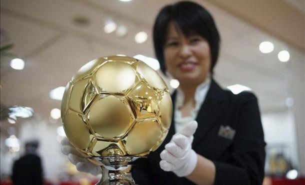 Ponen a la venta un balón de oro valorado en más de 310.000 euros