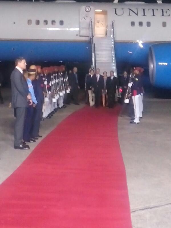 Joe Biden llega al país para reunirse con Danilo Medina este jueves
