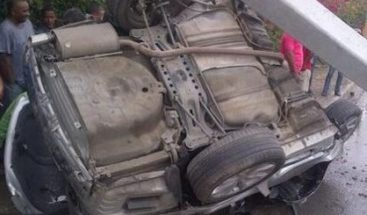 Muere hombre en accidente en la Jacobo Majluta
