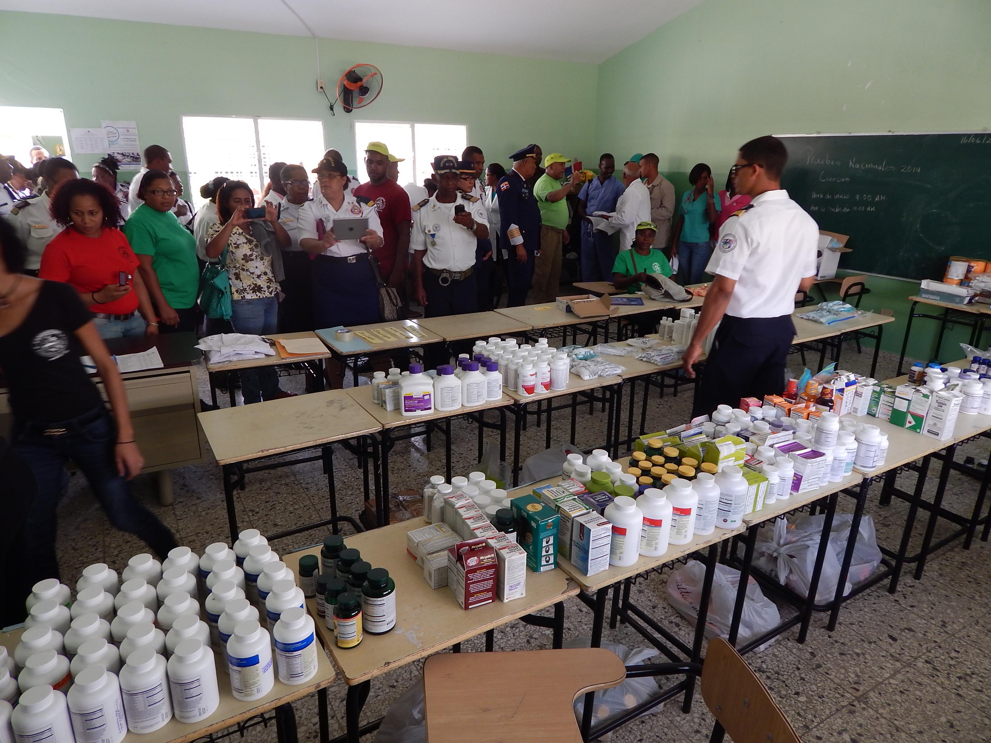 Realizan operativo médico en Villa Isabela de Puerto Plata