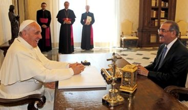 Medina y el Papa conversaron sobre aplicación de la sentencia 168-13