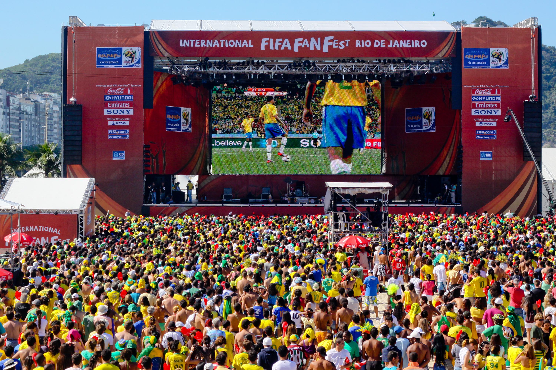 El FIFA Fan Fest de Brasilia podrá recibir unas 50 mil personas por día