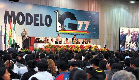 RD participa con ministro de Economía en Cumbre del G-77 en Bolivia