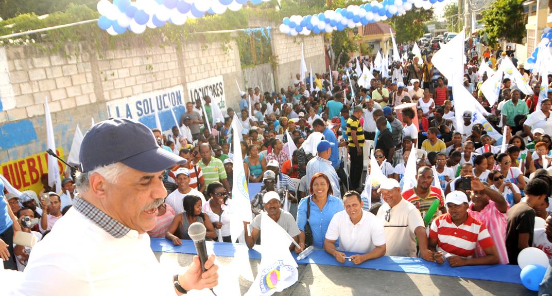 Miguel Vargas afirma coherencia y compromiso de cambio impulsan PRD al poder