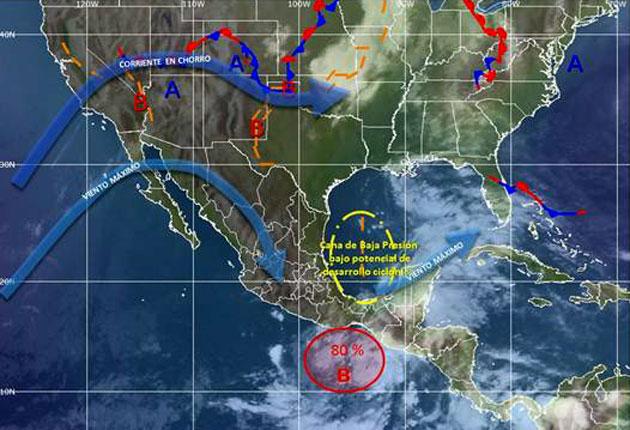 Tormenta Boris se degrada a depresión tras impactar en sureste de México