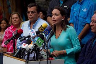 Machado asistirá a Fiscalía por plan magnicida y denuncia amenazas de muerte
