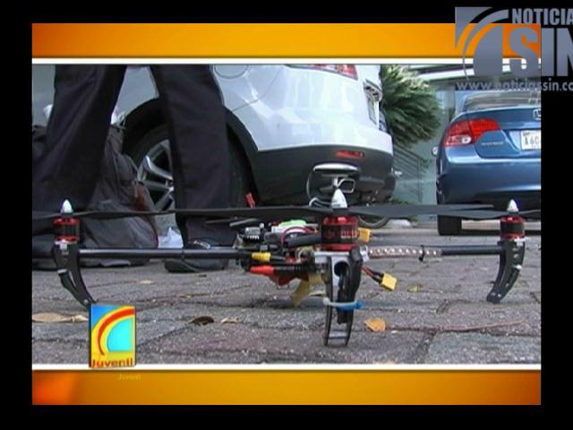 Jóvenes dominicanos crean un drone