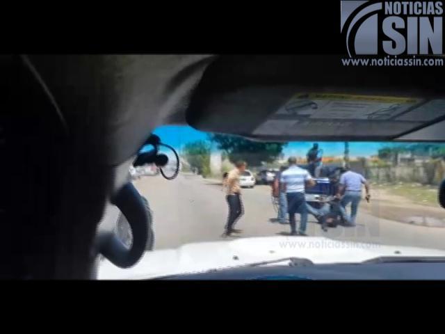 Video muestra escena de la muerte de supuesto asesino de la Amet