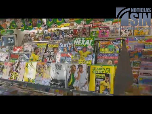 Neymar personalidad que más aparece en la televisión Brasileña