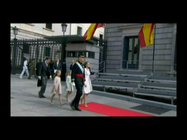Princesa de Asturias antes de que le lleguen los pies al suelo