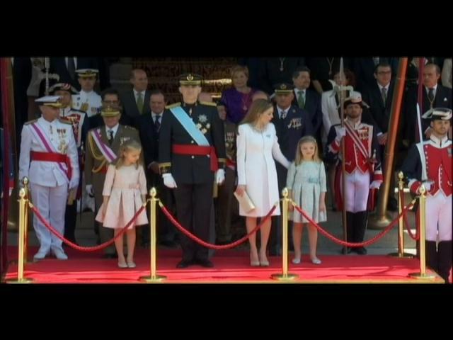 Muy modesta la coronación de Felipe VI