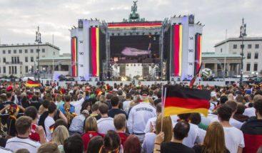 La selección alemana aterriza en Berlín para la gran celebración
