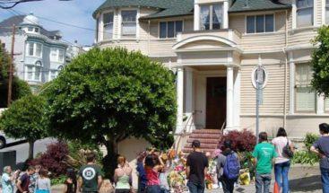 San Francisco cubre de flores la casa en que Williams rodó