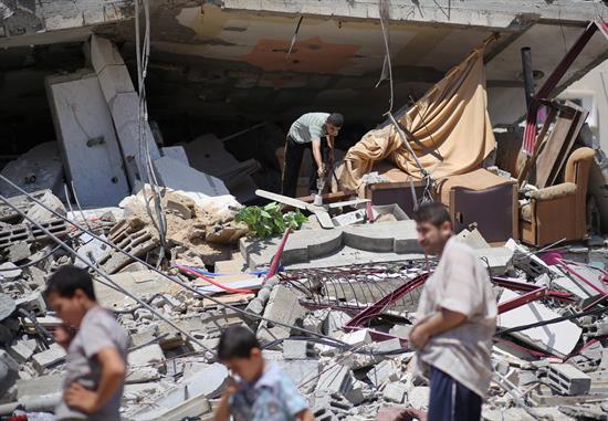 Muere niño palestino de ocho años en ataque israelí sobre Gaza