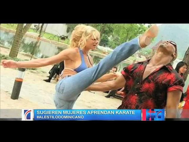 Mujeres reaccionan ante recomendación de practicar artes marciales