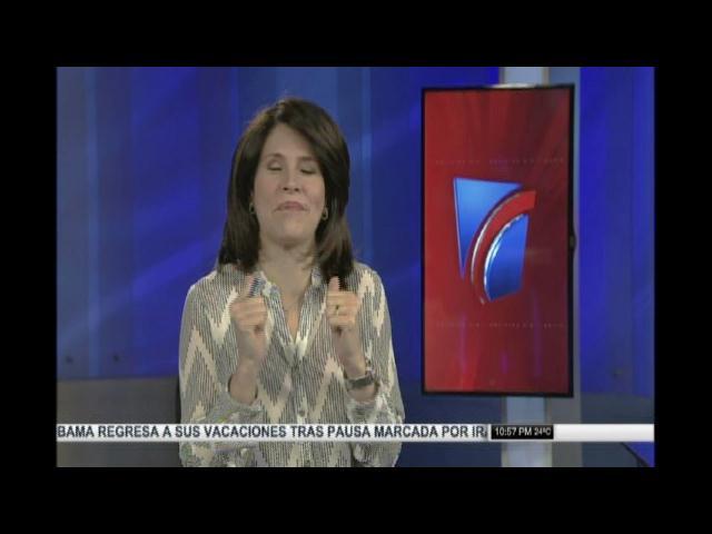 Alicia Ortega acepta reto de darse una ducha helada por esclerosis