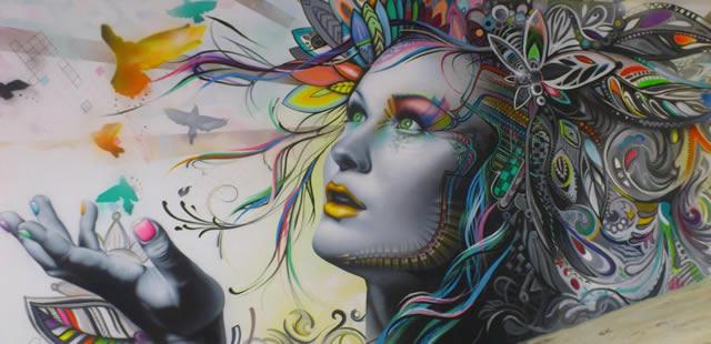 Obras de arte se presentan en calles de Estados Unidos