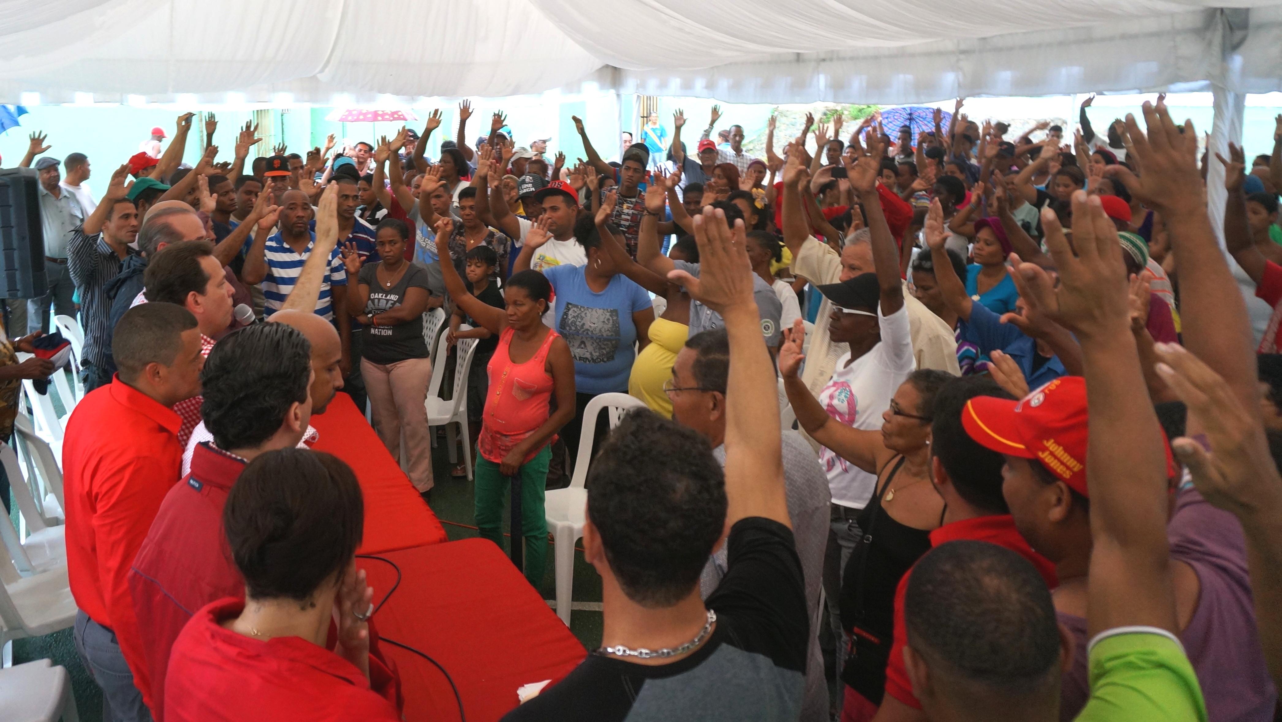 Bisonó dice trabajo del PRSC es por y para todos los sectores de la nación