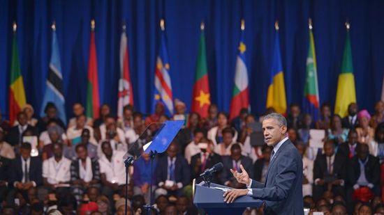 Unos 50 mandatarios asisten en Washington a cumbre EE.UU.-África