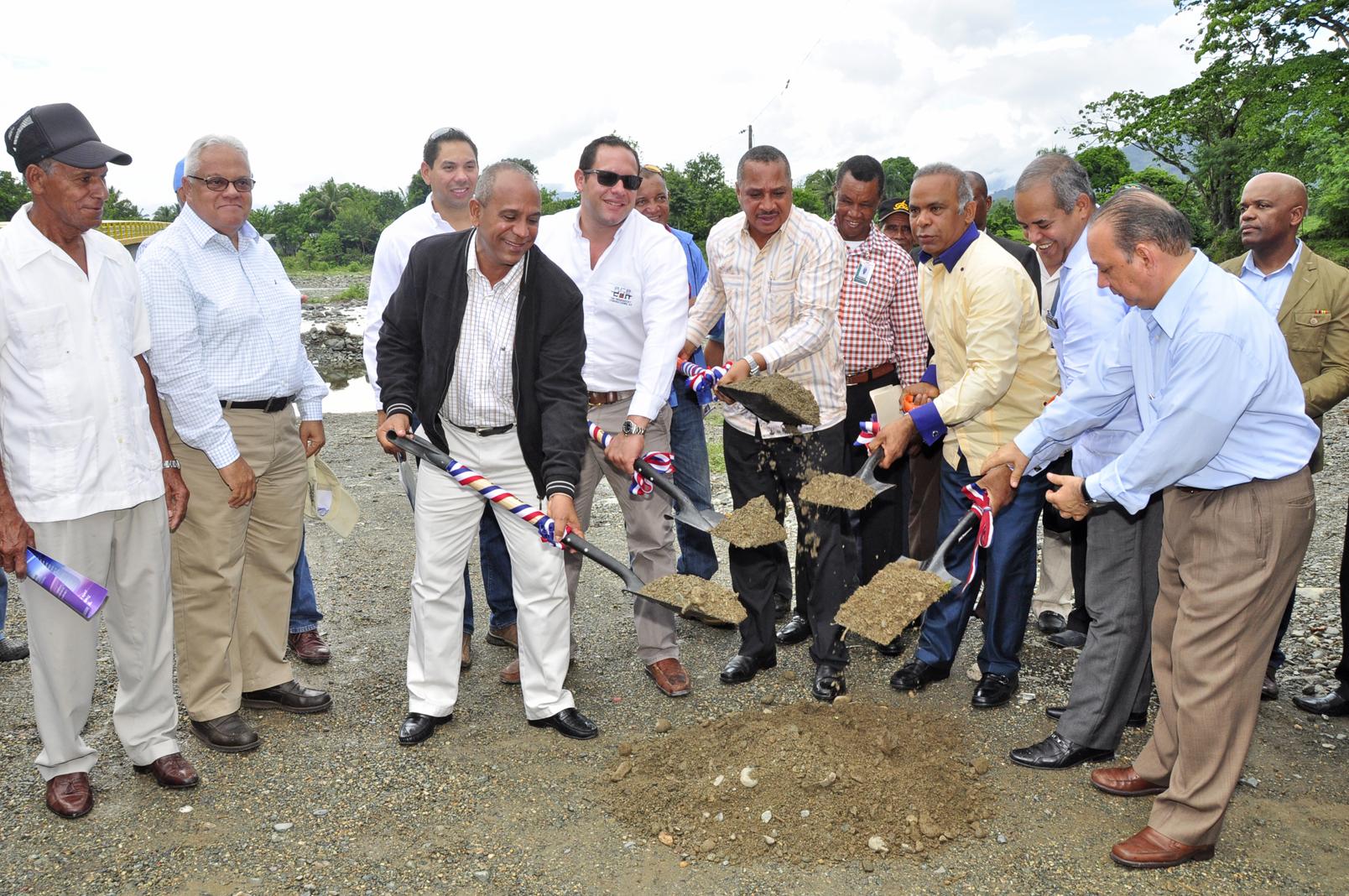 Indrhi inicia la construcción del sistema de riego Yuna Cañabón