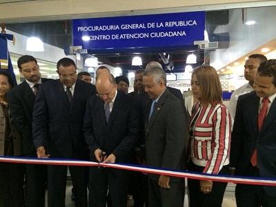 Procuraduría inaugura Centro Atención al Ciudadano en Malecón Center
