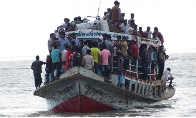 Dos muertos y unos 200 desaparecidos en un naufragio en Bangladesh