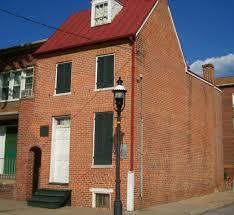 El hogar de Allan Poe en Baltimore, un escenario de la literatura universal