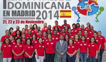 Presentan equipo Expopymes Dominicana 2014 en Madrid