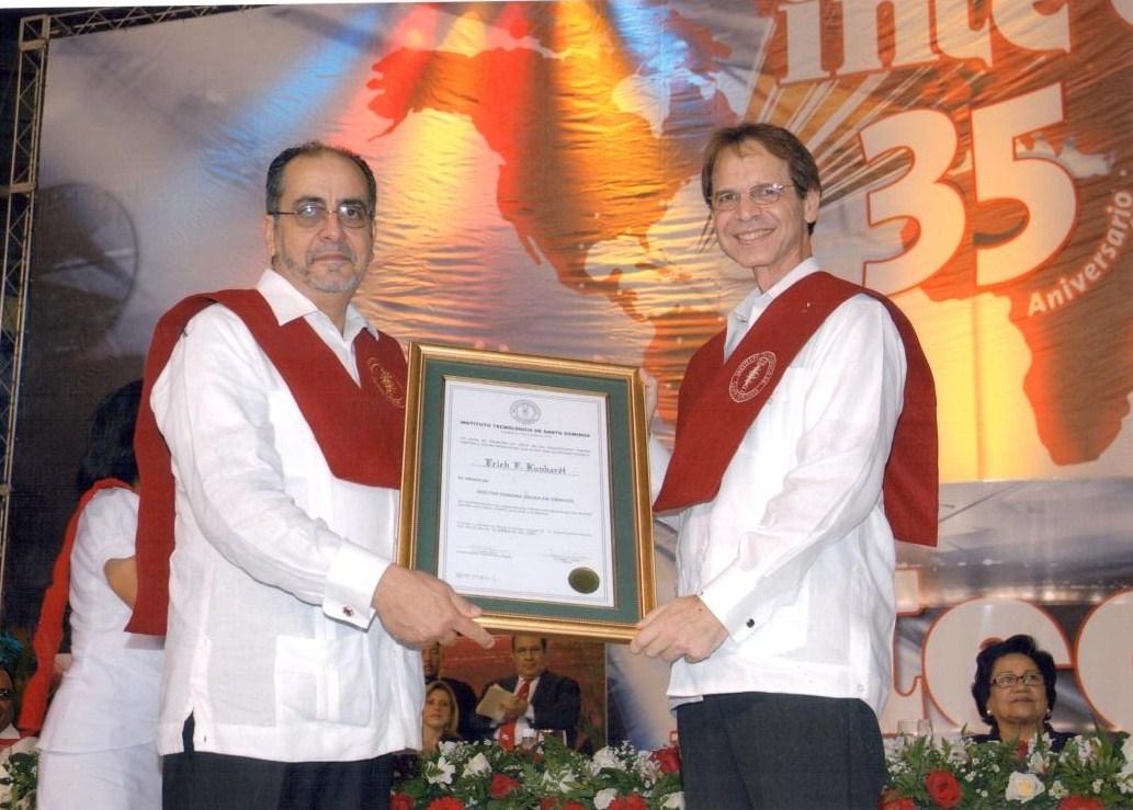 INTEC lamenta muerte del Doctor Erich Kunhardt, científico dominicano