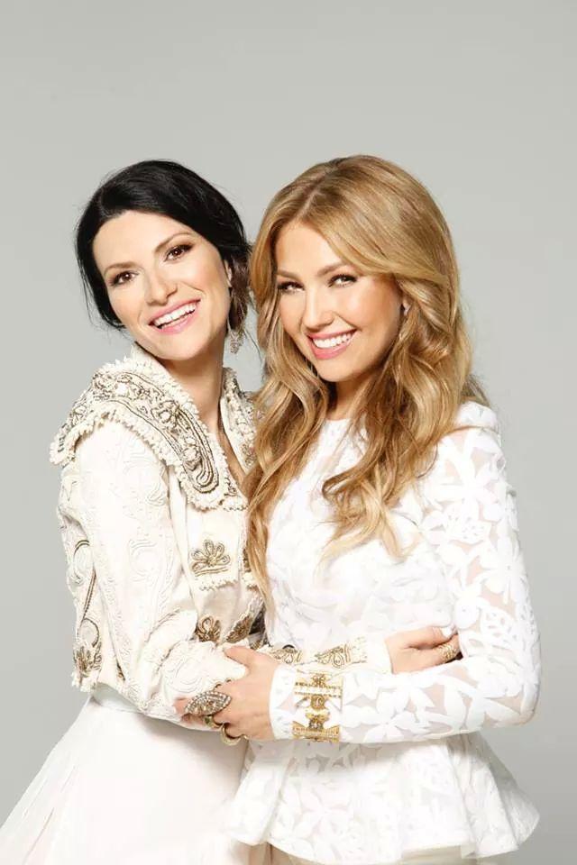 Thalía celebra su cumpleaños con un dueto con Laura Pausini