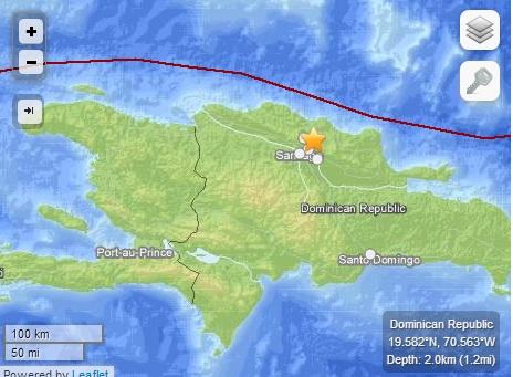 Temblor de 4.3 se registra en el país, según Sismología