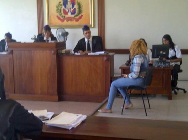 Martha Heredia se declara culpable y se va en llantos