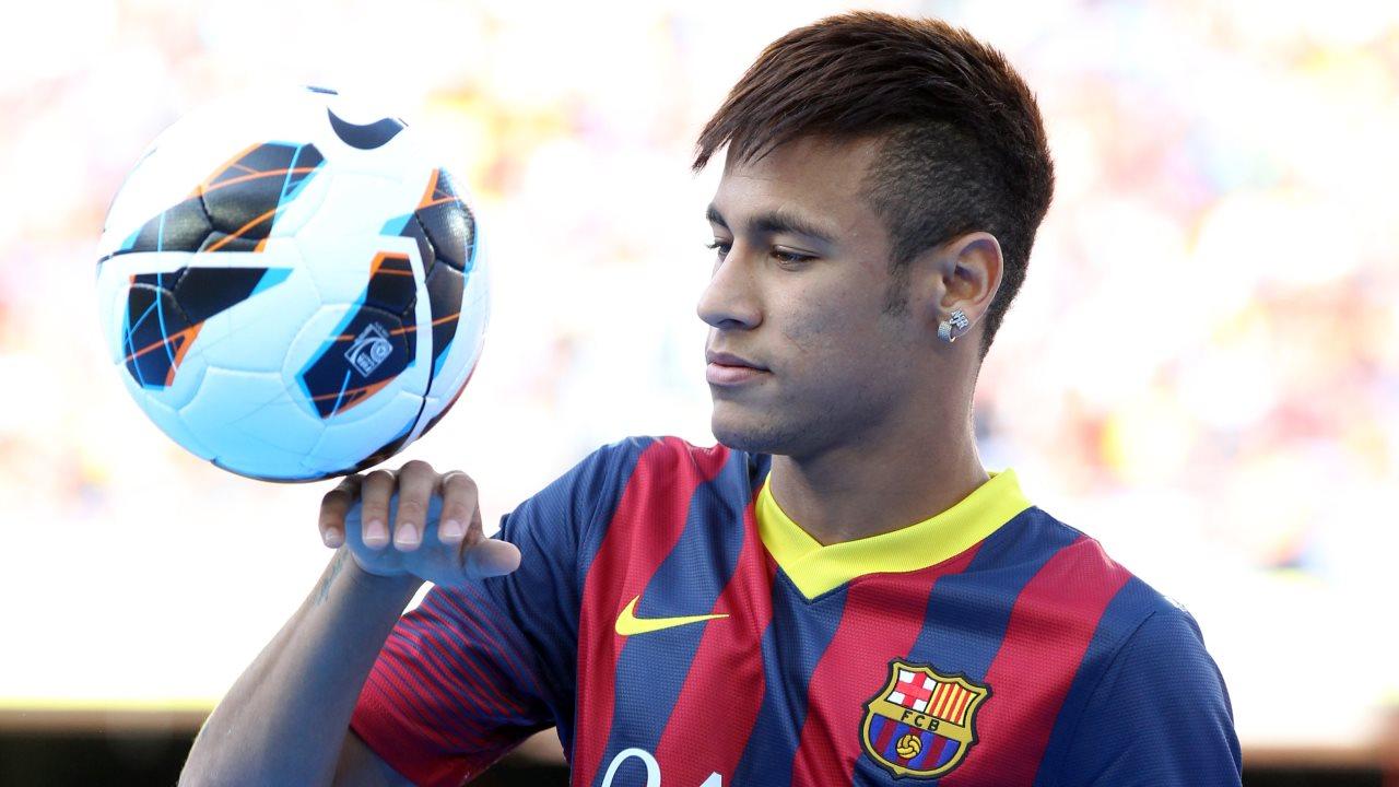 Neymar ya se entrena con sus compañeros