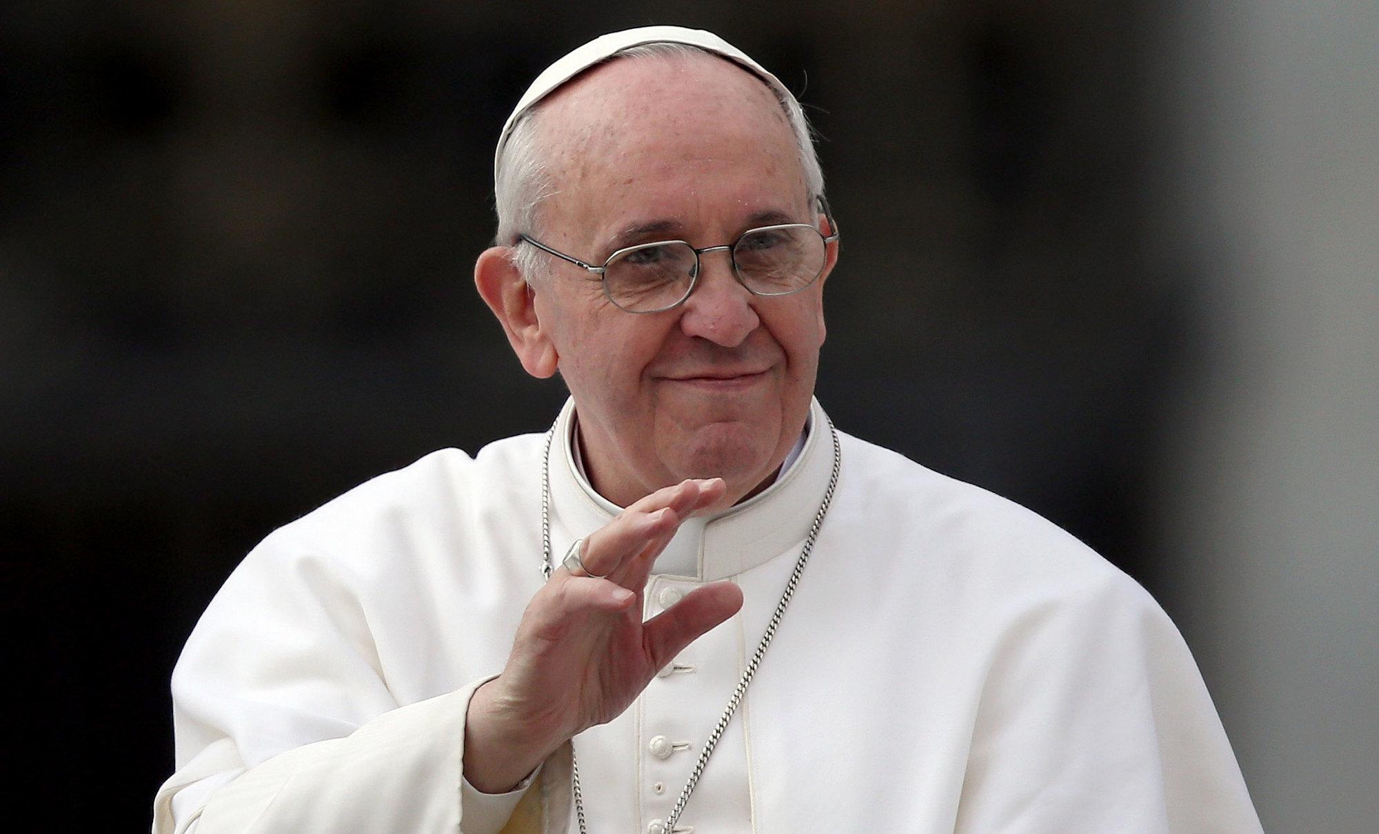 El papa: Se pueden tener opiniones diferentes, pero sin despreciar a nadie