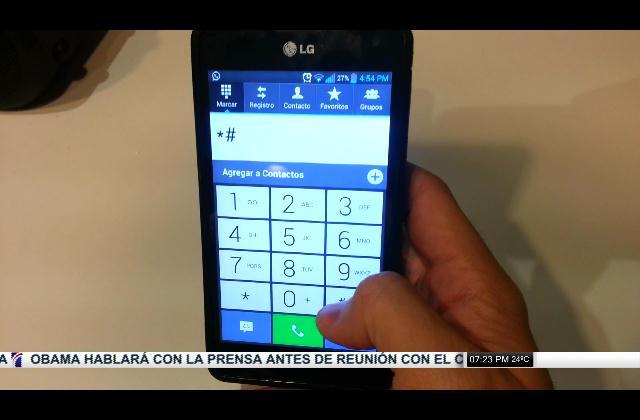 Como saber si tu celular está siendo intervenido