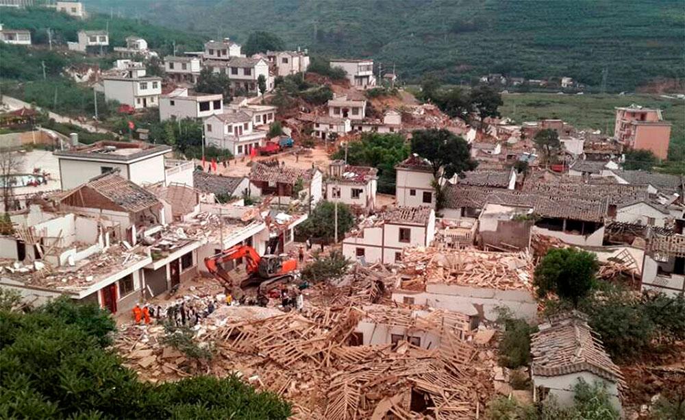 Cifra de fallecidos por seísmo en China asciende a 589