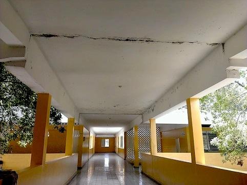 FELABEL declara en estado de emergencia techo Liceo de Neiba