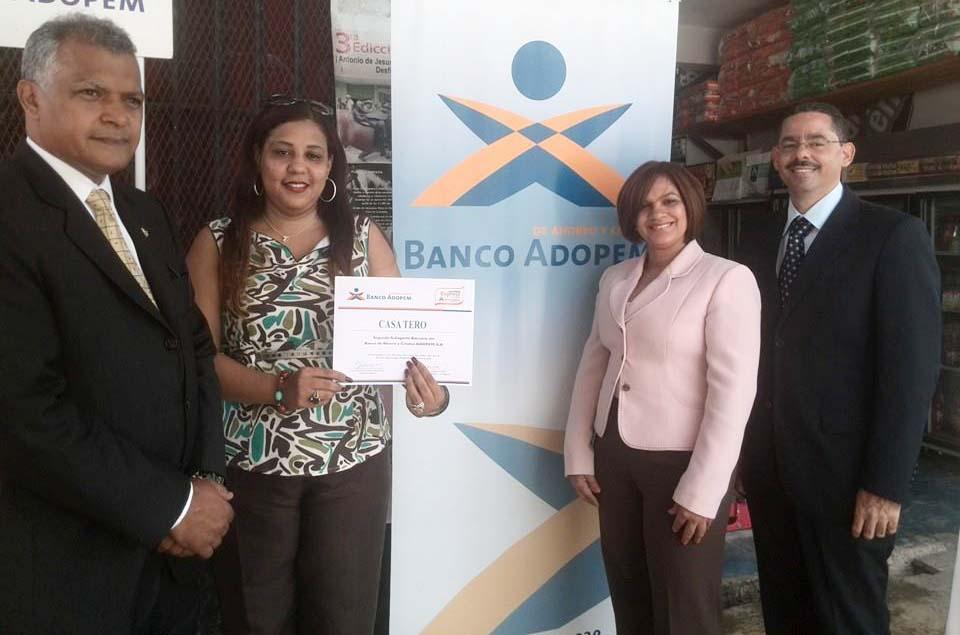 Banco ADOPEM presenta segundo Subagente Bancario