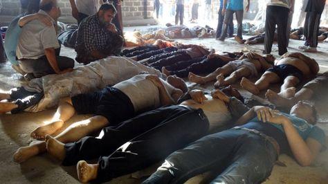 Oposición siria pide castigar a responsables de grave ataque químico