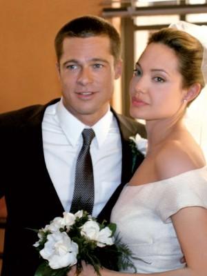Angelina Jolie y Brad Pitt se casaron en Francia, según revista People