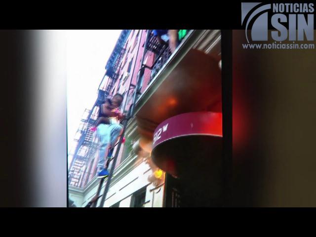 Muerte de menor dominicana durante incendio en NY; Testimonio de un héroe